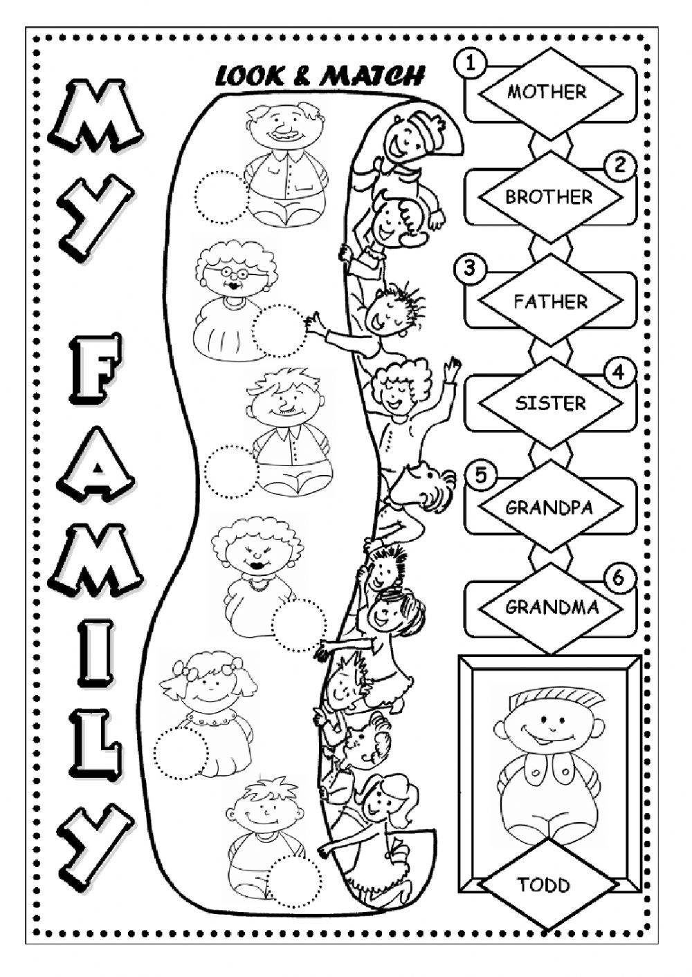 My_Family_rz82at on Flower Coloring Worksheets Kindergarten