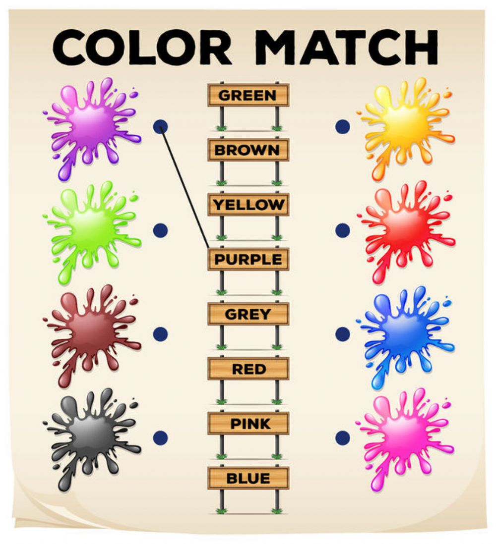 Color Match - Interactive worksheet