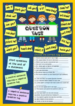 Question tags worksheet preview