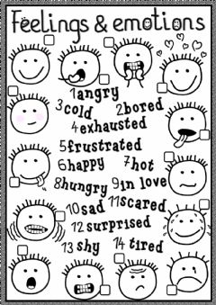 Worksheet Feelings And Emotions Worksheets Pdf english exercises feelings emotions and worksheet preview