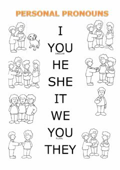 Interactive worksheet Personal Pronouns 1