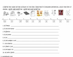 Interactive worksheet GUSTAR