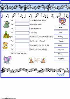 Interactive worksheet Esl Listening