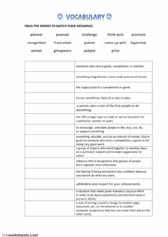 Interactive worksheet VOCABULARY ON THE MAN BEHIND THE MOUSE