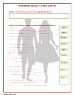 Music worksheet preview