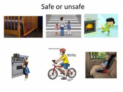 Interactive worksheet Safe or unsafe