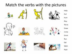 Interactive worksheet Verbs