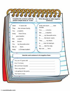 Interactive worksheet All About Yourself and Others.