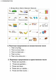 Demonstrative pronouns worksheet preview