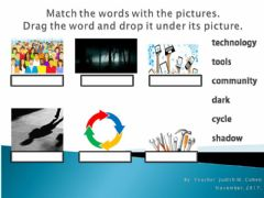 Interactive worksheet Challenge 3 Vocabulary 1
