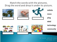 Interactive worksheet Challenge 3 Vocabulary 3