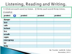 Interactive worksheet Challenge 3 LRW 5