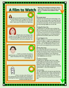 Interactive worksheet A film to watch