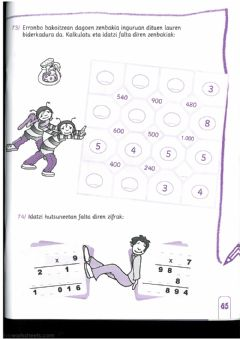 Interactive worksheet Matematika-9-65