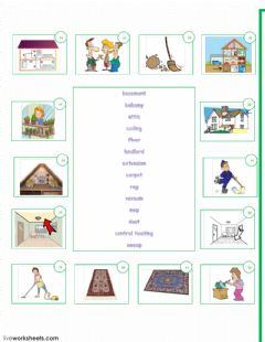 Home worksheet preview