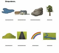 Countryside. Drog-down worksheet preview