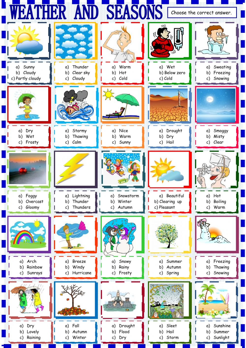 Hd Wallpapers Kids Seasonal Weather Worksheets 13 Best