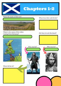 Interactive worksheet All about Scotland - Chapters 1-2