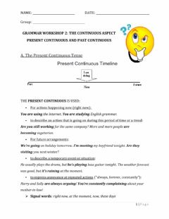 Interactive worksheet Present and Past Continuous