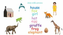 Interactive worksheet Interactive picture vocabulary E, F, G H