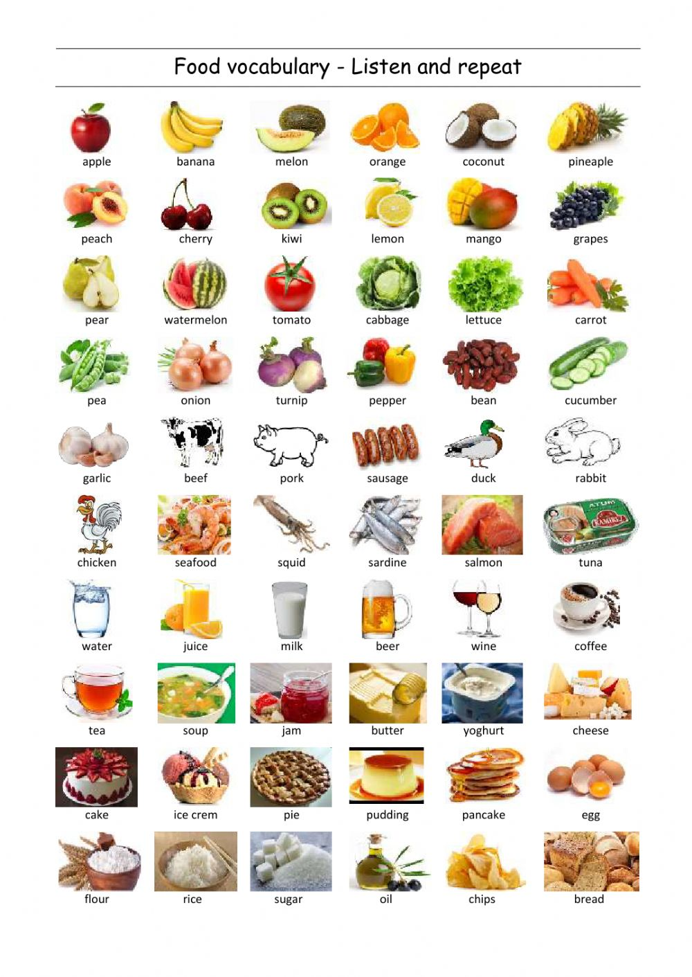 Healthy Cooking With Fruits and Vegetables pics