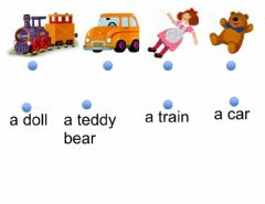Interactive worksheet Toys 2