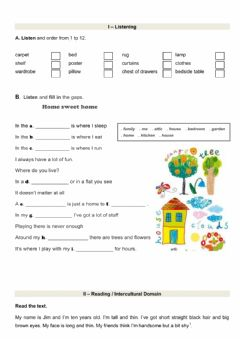 Interactive worksheets maker for all for Furniture quiz questions