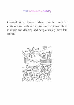 Interactive worksheet carnival