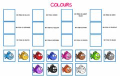 Interactive worksheet my fish is