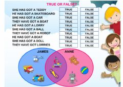 Interactive worksheet have got (true or false)