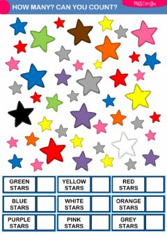Interactive worksheet How many? Can you count?