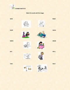 Interactive worksheet Basic verbs