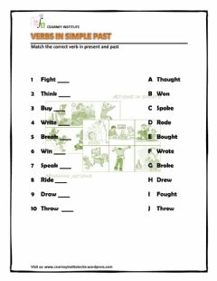 Interactive worksheet Verbs in past 1