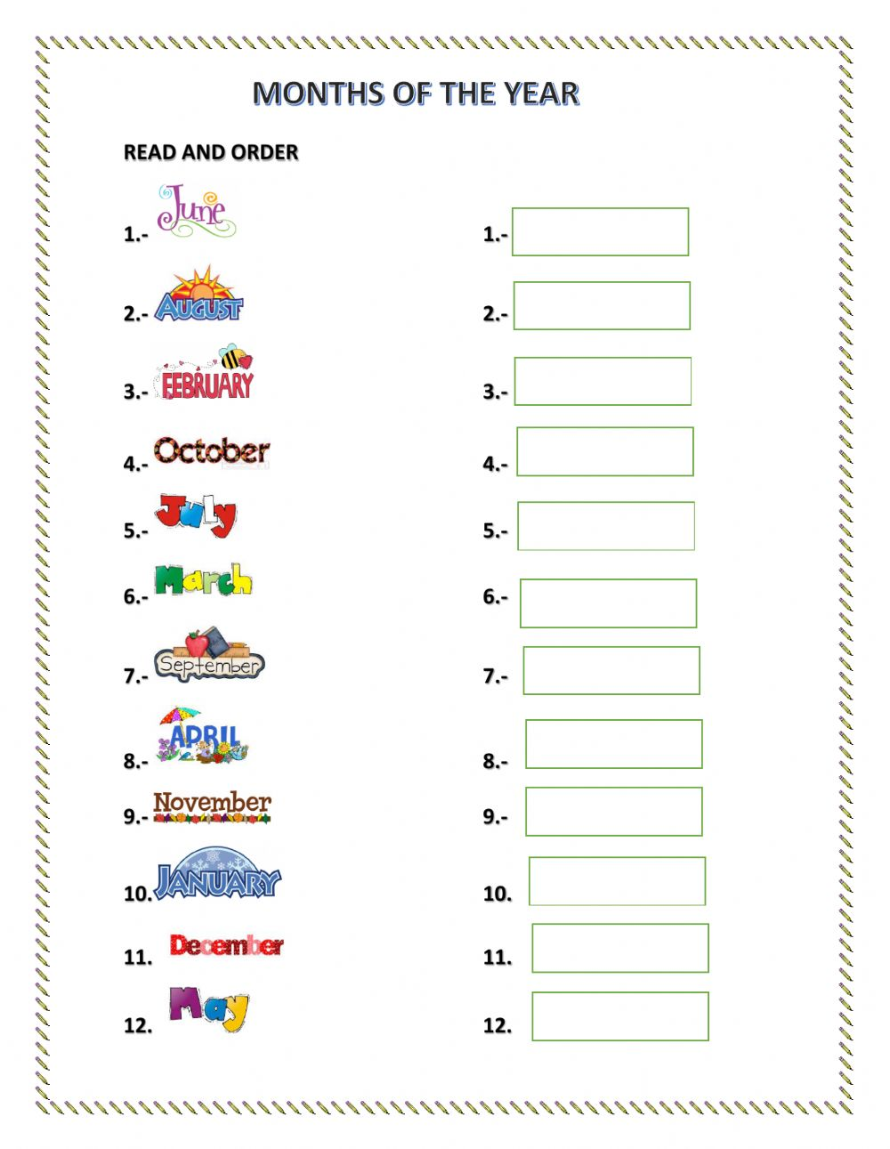 Worksheets Months Of The Year Worksheets spelling months of the year free printable worksheets worksheetfun 1 worksheet