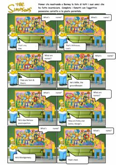 The Simpsons worksheet preview