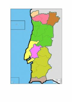 Interactive worksheet Regiões de Portugal