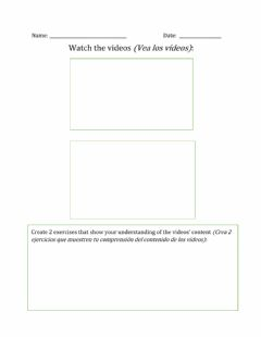 Interactive worksheet Fractions to decimals - Videos