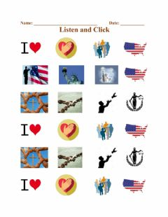 Interactive worksheet The Pledge Of Allegiance