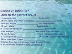 Ficha interactiva Gerund or Infinitive
