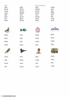 Interactive worksheet Reading 9,10