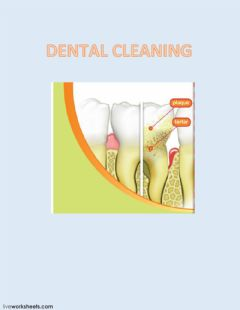 Interactive worksheet Dental Cleaning