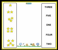 Numbers stars worksheet preview