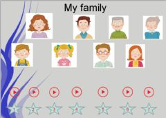 Interactive worksheet Family members