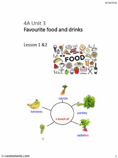 Ficha interactiva Food and drinks phrases of quantity
