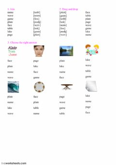 Interactive worksheet Reading 11,12
