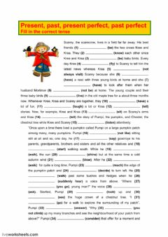 Interactive worksheet Tenses