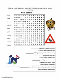 Interactive worksheet Ready for Action - Animals