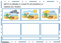 Interactive worksheet Oca va al mare