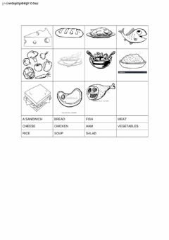 Interactive worksheet Food top secret 5