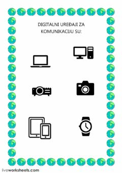 Interactive worksheet Komunikacija